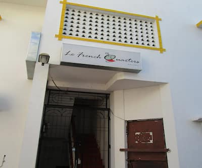 Le French Quarters,Pondicherry