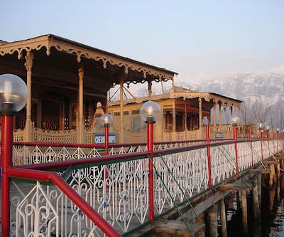 RIE Heritage Group of Houseboats,Srinagar