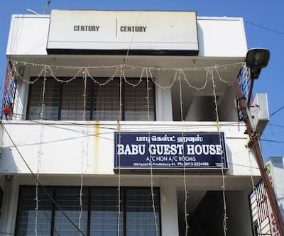 Babu Guest House,Pondicherry