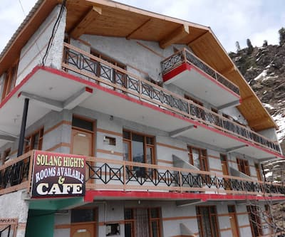 Hotel Solang Heights,Manali