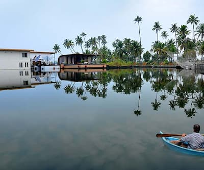 Aquatic Island by Poppys,Cochin