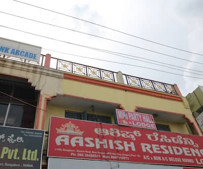 Aashish Residency,Bangalore