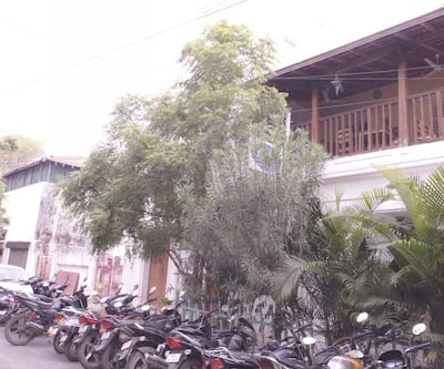 A La Villa Creole,Pondicherry