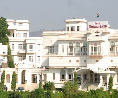 The Merwara Palace, Ana Sagar Lake,