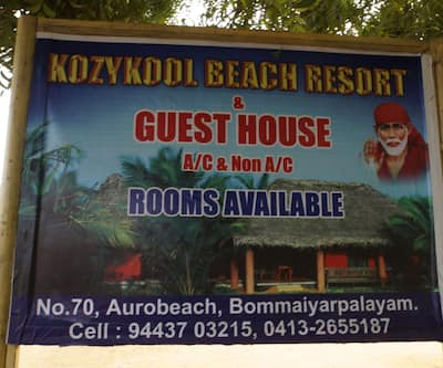 Kozhy- Kool Guest House,Pondicherry