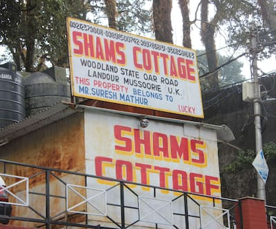 Shams cottage, Landour,