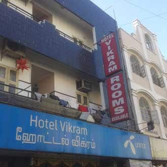 Hotel Vikram, Central Railway Station,