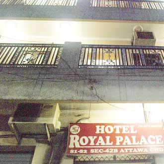 Hotel Royal Palace,Chandigarh