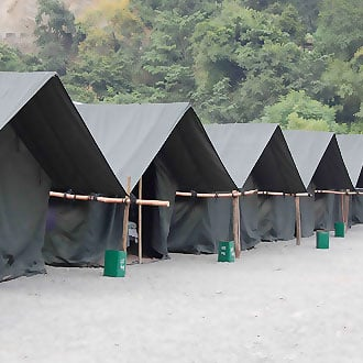 Camp Riverside,Rishikesh