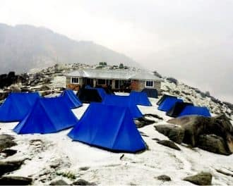 Trek To Triund Camp,Dharamshala