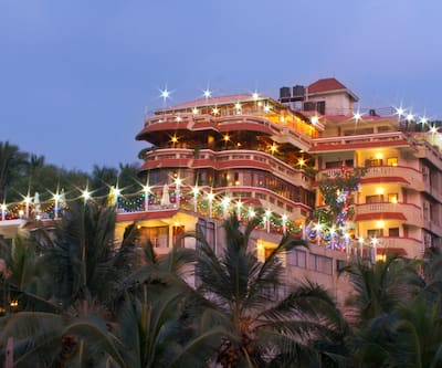Hill and Sea View Beach Resort,Kovalam