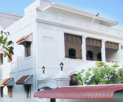 Villa Bayoud Sea View Heritage Hotel,Pondicherry