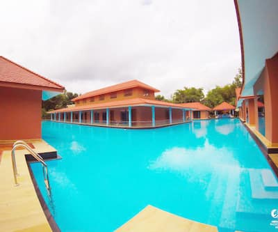 SAJ Earth Resort (0.5 KMS to Airport),Cochin