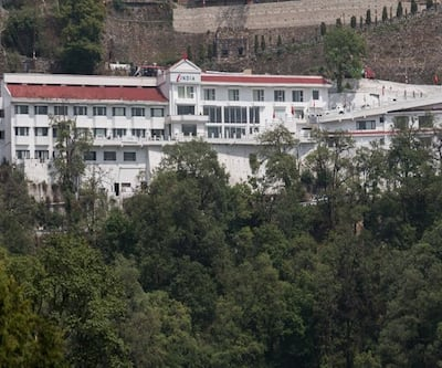 The India at Big Bend,Mussoorie