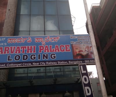 Paravathi Palace Lodging,Bangalore