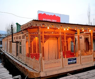 Golden Crest Houseboat,Srinagar