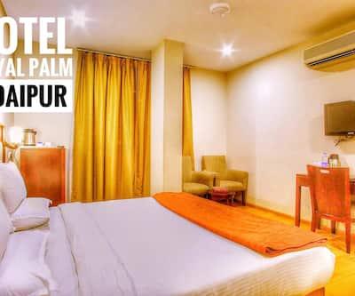 Hotel Royal Palm - A Budget Hotel in Udaipur, Udaipole,