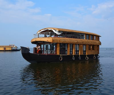 Ostrich house boat,Alleppey