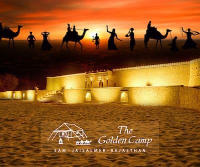 The Golden Camp,Jaisalmer