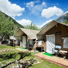 The Chardham Camp,Harsil, Gangotri