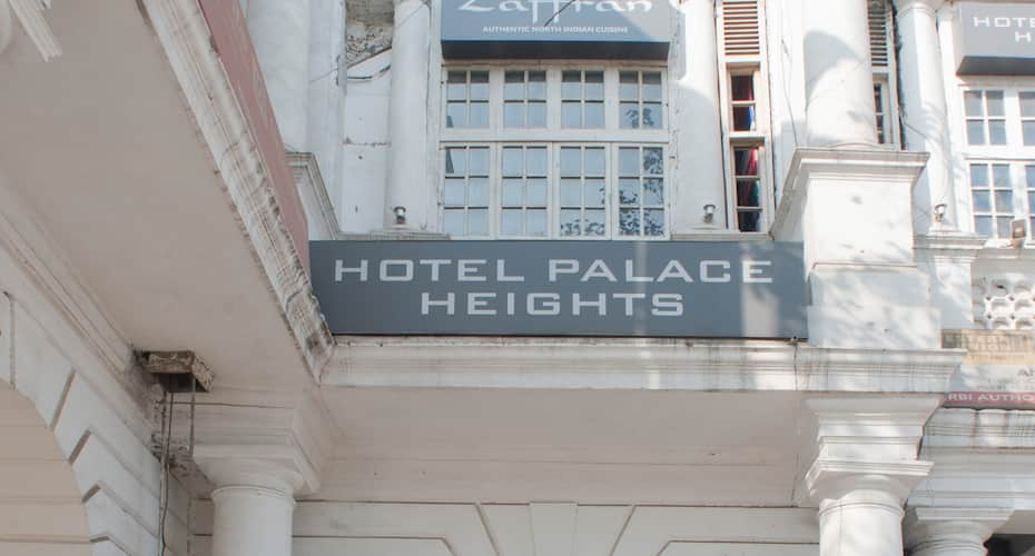 Hotel Palace Heights, Connaught Place,