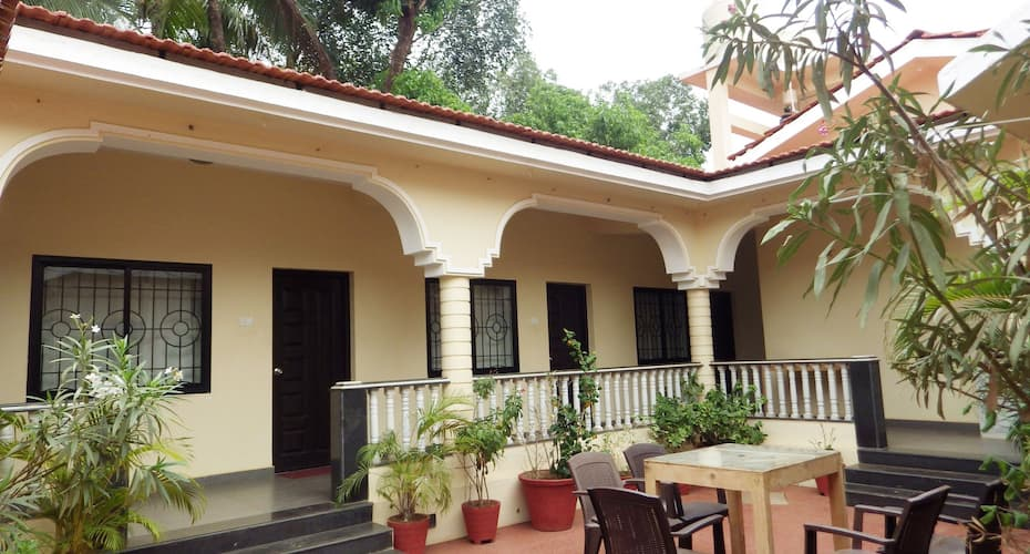 Vagator House Resort Near Vagator Beach, Anjuna,