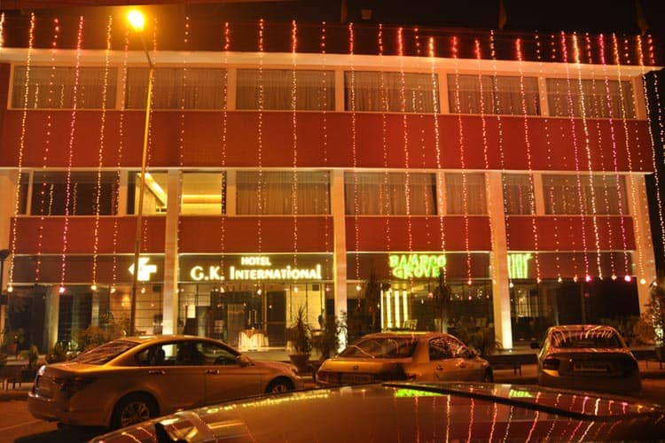 Hotel G K International, Sector 35,