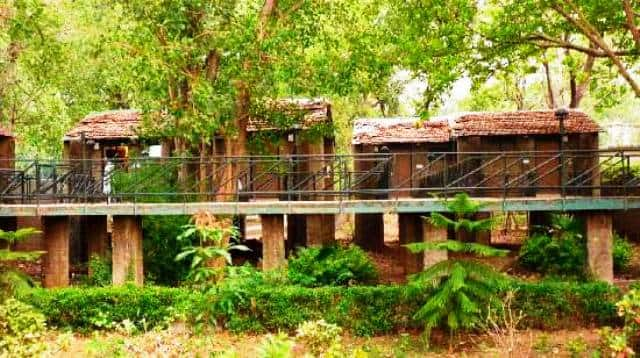 MPT White Tiger Forest Lodge, Village Tala,