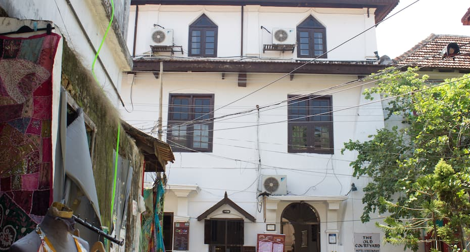The Old Courtyard,Cochin