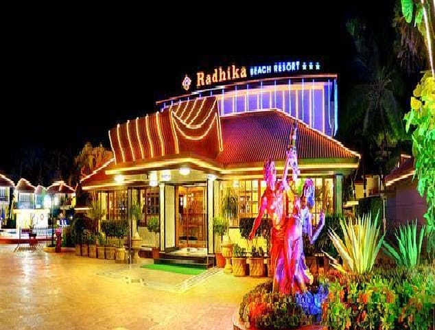 Radhika Beach Resort, Nagoa Beach,