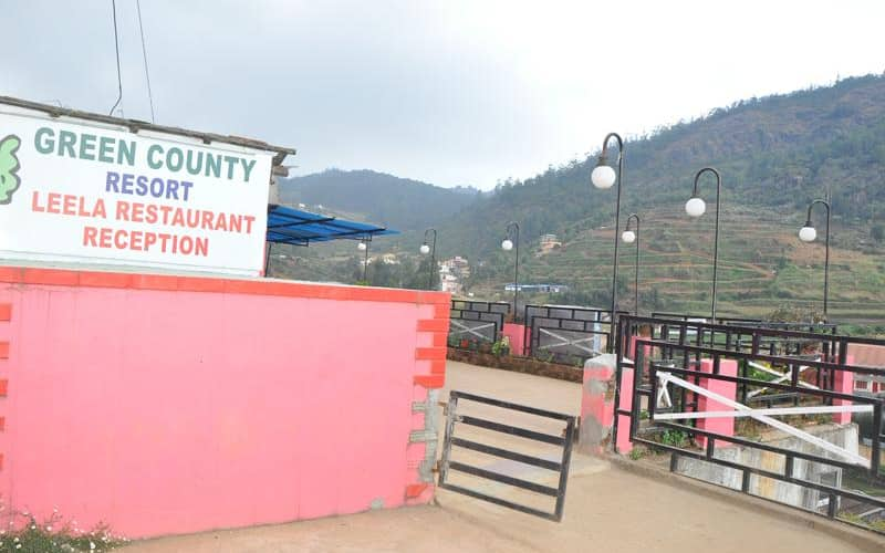 Green County Resort, Coonoor Road,