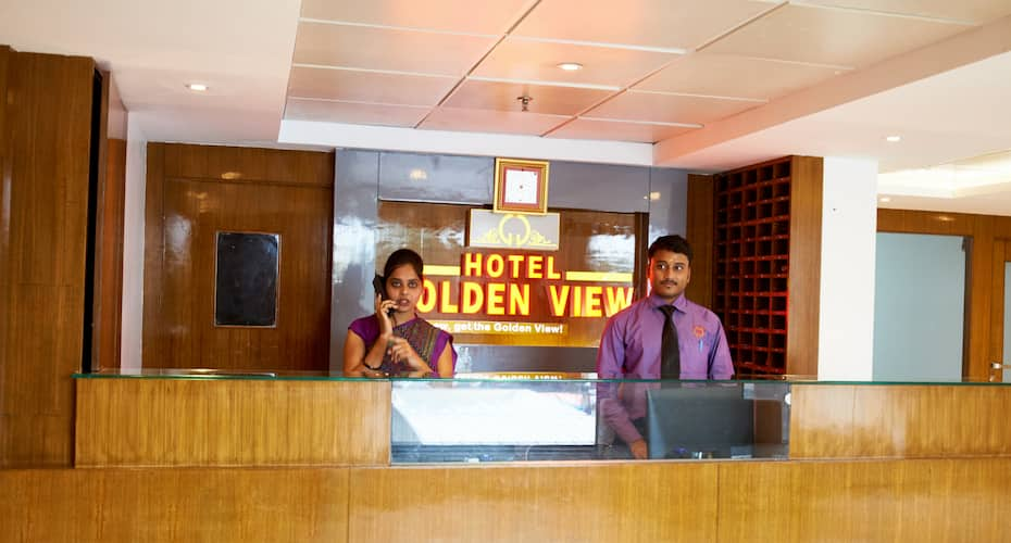 Hotel Golden View, Near Temple,