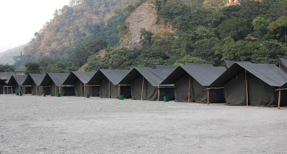 Camp Eagles At Vyasi, Tapovan,