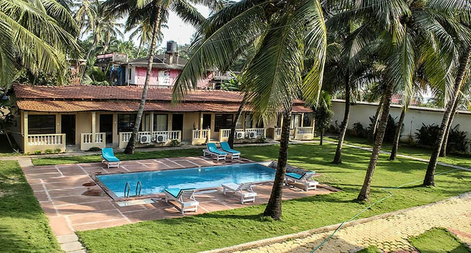Morjim Coco Palms Beach Resort, Morjim,