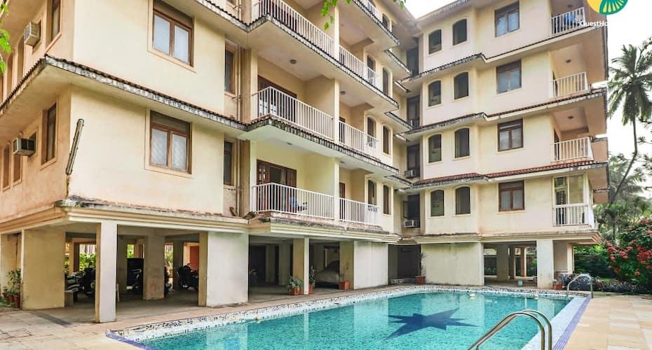 Pool-facing 1-bhk, Close To Candolim Beach