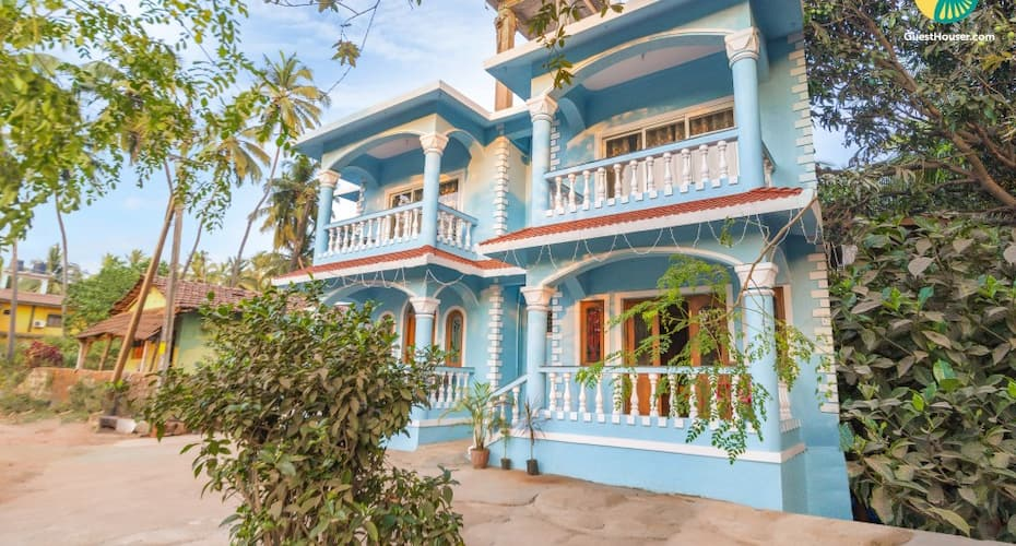 An Idyllic Stay For A Family, 1 Km From Calangute Beach