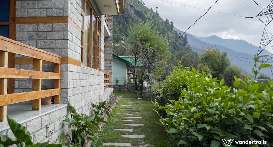 Green Mountain Lodge - A Wandertrails Stay, Kanyal Road,