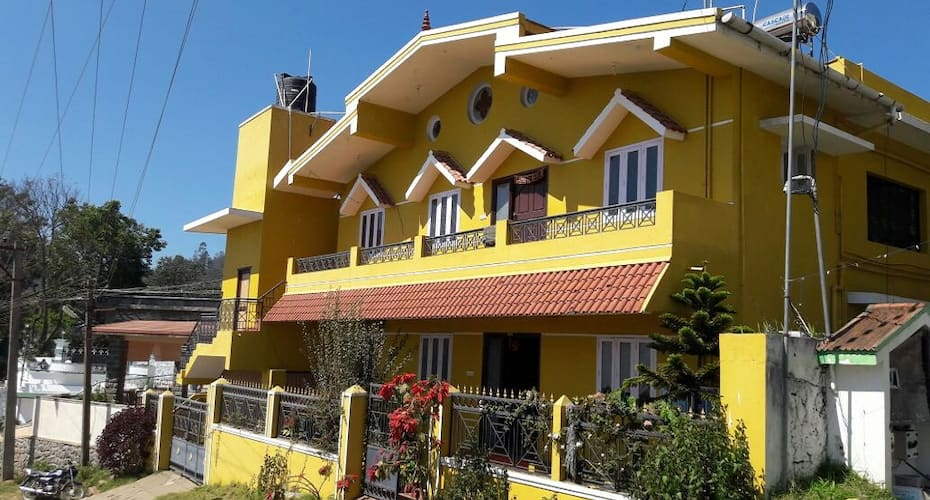 Yellow Cottage,Kodaikanal