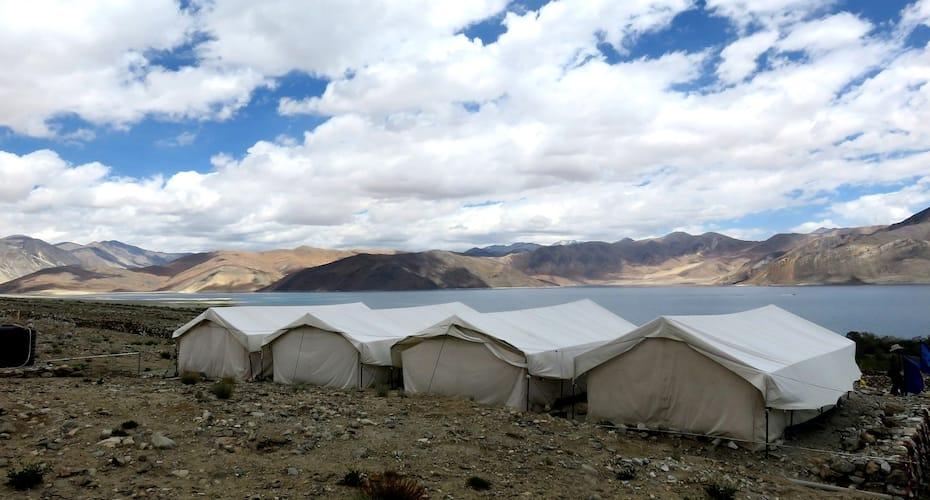 Camp Blue Waters, Tsomoriri Lake,