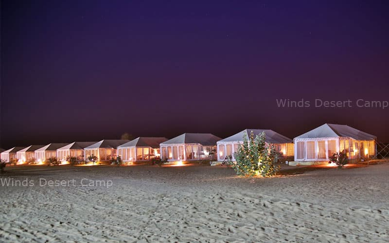 Winds Desert Camp, Sam Sand Dune Road,