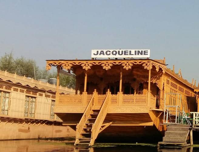 Jacqueline Houseboat, Dal Lake,
