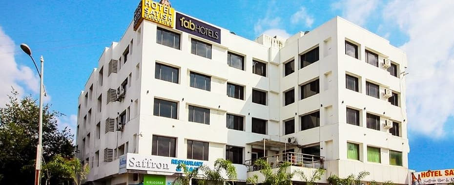 FabHotel Satish EXecutive Hinjewadi, Chinchwad,