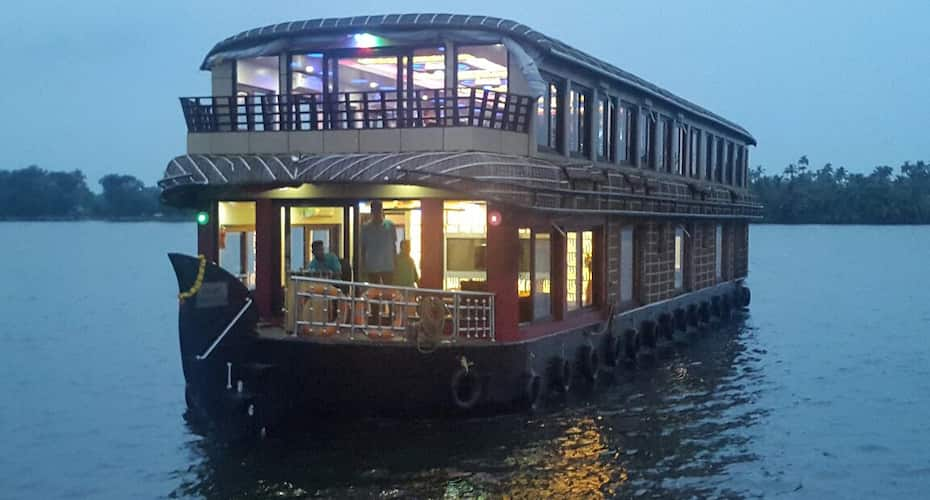 Smart Gold House Boat