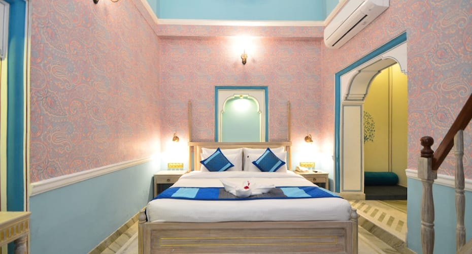 Nirbana Palace - A Heritage Hotel and Spa, M I Road,