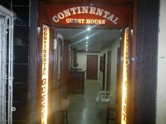 Continental Guest House, Park Street,
