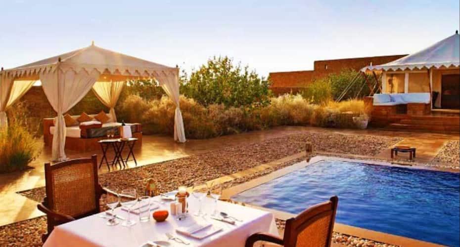 Countryside Resort, sam sand dunes jaisalmer,