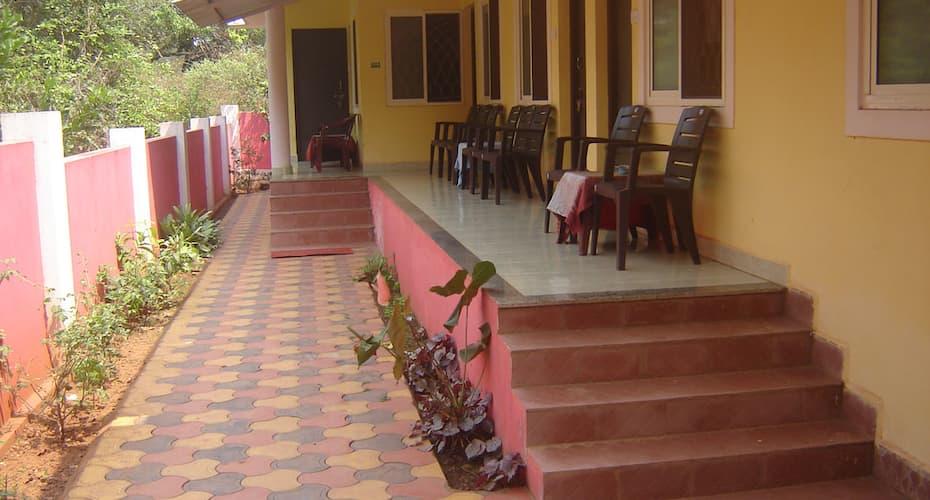 Silver Moon guest house, Anjuna,