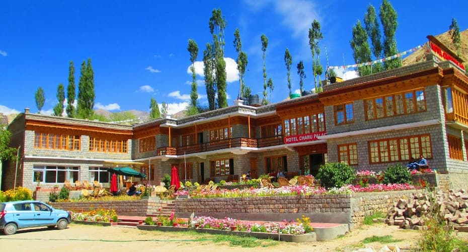 Hotel Charu Palace, Lower Tukcha Road,