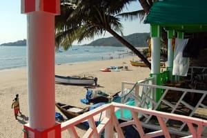Abel Cressida Beach Cafe, Palolem,
