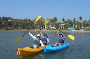 Discover Kayaking : Sundrenched, Goa (30 min)